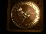 1996 1 OZ Silver kookaburra proof COIN not Jewellery. Click for more information...