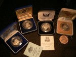 OZ silver 10 dollar Australian state series coins x 4. Click for more information...