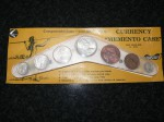 coins in boomerang currency memento Australian. Click for more information...