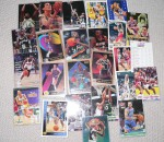 assorted Basketball collector cards many in slips. Click for more information...