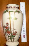 Large beautiful Japanese Satsuma ware Vase. Click for more information...