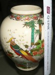 Large and Beautiful Japanese Satsuma ware Vase. Click for more information...