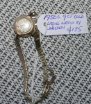 1950s Ladies 9 ct gold watch Unicorn. Click for more information...