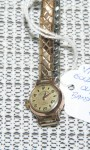 Vintage 9ct gold ladies watch Olymp. Click for more information...