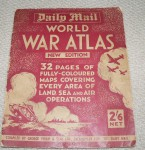 Daily mail world  atlas war time issue. Click for more information...