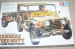 Plastic model jeep new unopened. Click for more information...