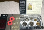 1995 Uncirculated coin set 50th Anniversary ww2. Click for more information...
