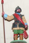 PMD England Lead Miniature pikeman c 1960s 70s. Click for more information...