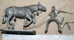 Vintage Large as new Ray Lamb lead model of Chinese warrior with horse 1970s. Click for more information...