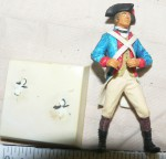 Painted airfix model American soldier 1775. Click for more information...