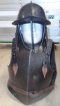 English Civil war Cromwellian armour with helmet Circa 1630 1650. Click for more information...