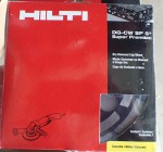 Hilti DG CW SP5 Concrete Diamond grinder disk NEW GENUINE AND CHEAP. Click for more information...