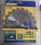 IRWIN TUNGSTEN SAW BLADE 184MM X 20T PROFESSIONAL. Click for more information...