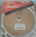 Makita A 80117 180MM X 25MM Wet Type Concrete Diamond masonry blade. Click for more information...