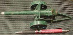 Old Britains toy cannon cap gun MADE IN ENGLAND. Click for more information...