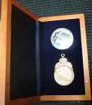 Commemorative set 1 ounce silver coin etc HMAS Sydney and the Emden. Click for more information...