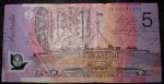 Australian 5 dollar bank note EA 06 prefix. Click for more information...