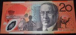Australian 20 dollar bank note DA 13 prefix NICE NOTE. Click for more information...
