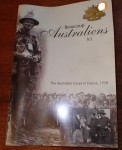 Beaucoup Australiens ICI Australian corps in France 1918. Click for more information...