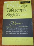 Facts about telescopic sights A manual re scopes. Click for more information...