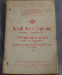 303 Machine gun training manual Infantry Limber and horsed Cavalry 1939 Australia. Click for more information...