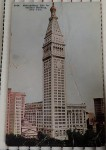 Old postcard Metropolitan life insurance building New York. Click for more information...