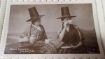 Old postcard Photo Welsh Costume Tea and Talk. Click for more information...