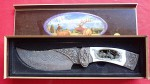 Moderish knife in box with detached lid. Click for more information...