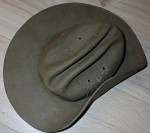 1981 dated Australian Army slouch hat. Click for more information...