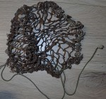 ww2 Australian Army helmet net. Click for more information...
