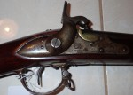 US military musket L Pomeroy 1844 Flintlock conversion. Click for more information...