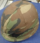 Nice USA helmet with liner and camo cover. Click for more information...