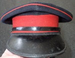 H712 Australian Vietnam war era dress blues visor cap. Click for more information...