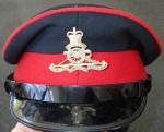 Australian Military dress Blues visor cap. Click for more information...
