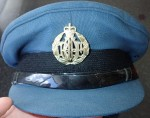 Australian Military visor cap RAAF. Click for more information...