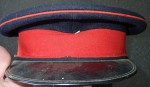 Australian Military visor cap Vietnam era. Click for more information...