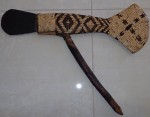 Old PNG Greenstone axe. Click for more information...