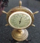 old Regwell Control thermometer ships wheel design. Click for more information...